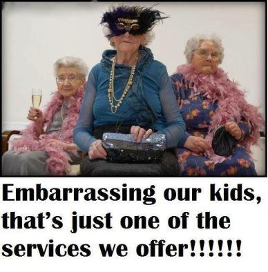 embarassing